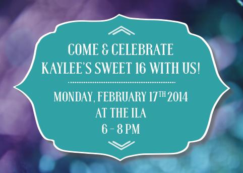 Sweet 16 Invite